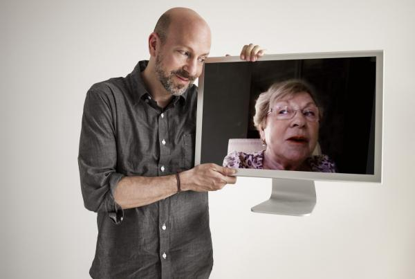 "Film director Joshua Seftel turned his FaceTime conversations with his mom Pat Seftel into a popular YouTube series called ""My Mom On Movies."" (Phillip Toledano)"
