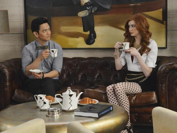 John Cho and Karen Gillan star in <em>Selfie, </em>an ABC comedy that will roll out this fall.