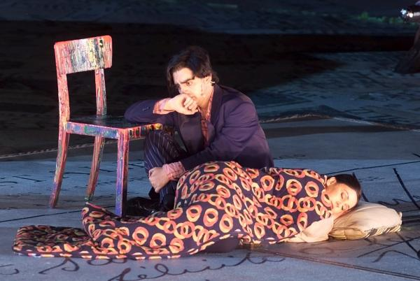 Rolando Villazon and Alexia Voulgaridou star as Rodolfo and Mimi in a June 2001 production of Giacomo Puccini's opera <em>La Boheme. </em>Some real-life artists say the story cuts a little close to home.