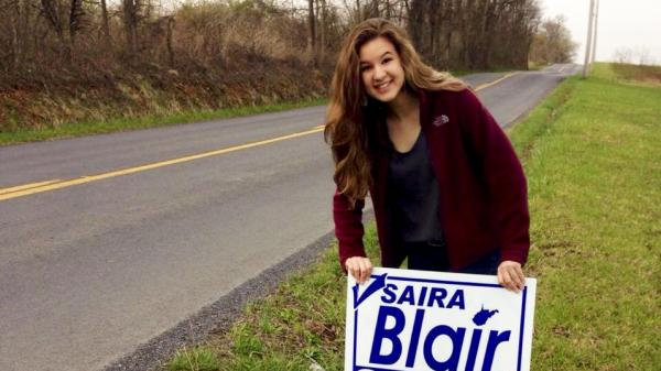 The incumbent state legislator who lost to Saira Blair acknowledged that the 17-year-old outworked him on the campaign trail.