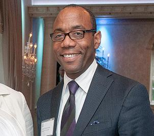 Cornell William Brooks at the 2013 New Jersey Institute for Social Justice gala.