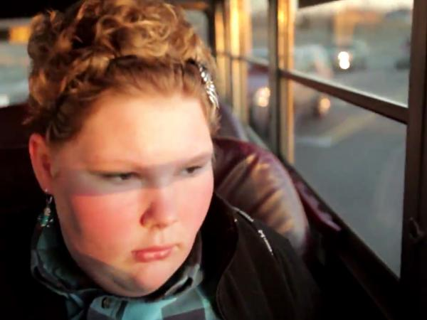The true stars of the documentary film <em>Fed Up</em> are several children — including Maggie Valentine, 12 — who are trying to lose weight.