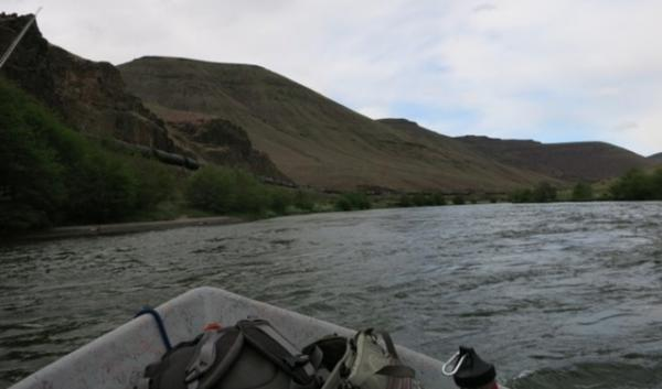 This southbound oil train, spotted by people fishing on the Deschutes River, has set off a chain reaction of concerns about oil train safety in Central Oregon.