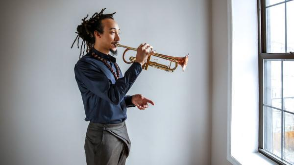 Theo Croker's new album, <em>AfroPhysicist</em>, comes out May 20.