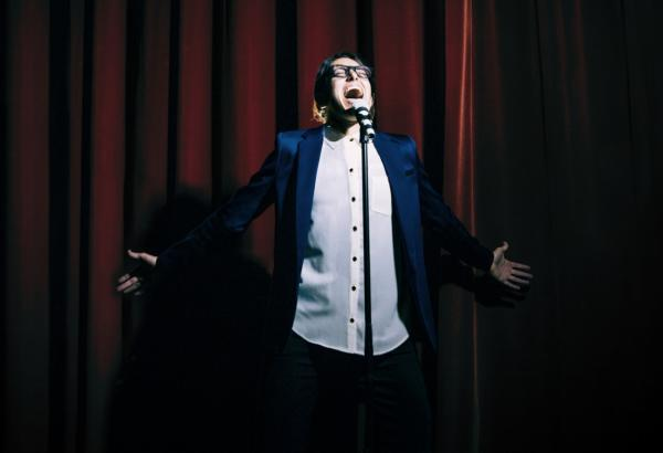"""Michelle Chamuel is pictured in the cover photo for her single """"Go Down Singing."""" (Courtesy)"""