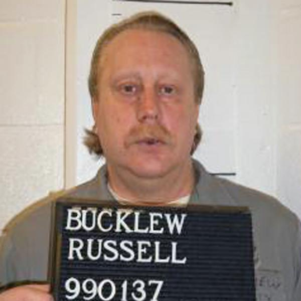 Convicted murderer and rapist Russell Bucklew in a February photo provided by the Missouri Department of Corrections.