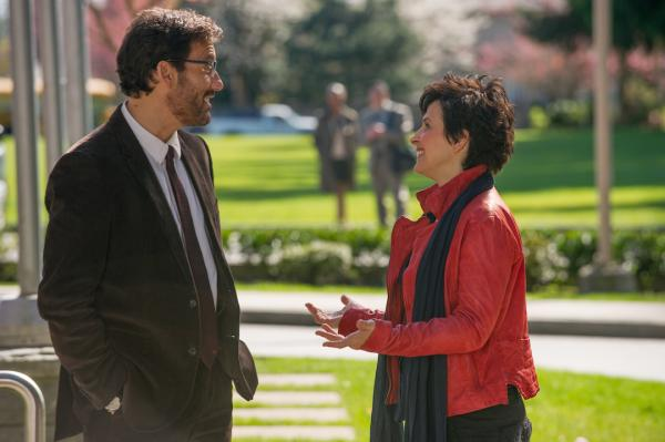 "Clive Owen and Juliette Binoche are pictured in a still from ""Words and Pictures."" (Courtesy)"