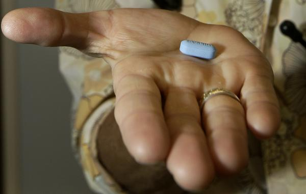 Dr. Lisa Sterman held a Truvada pill at her office in San Francisco in 2012. She prescribed Truvada to patients at high risk for HIV infection even before the Food and Drug Administration approved the medicine explicitly for that purpose.
