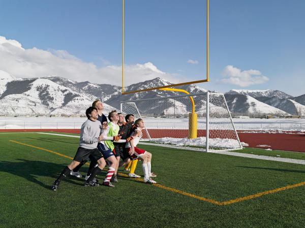 <em> Soccer Practice, Star Valley Braves, Afton, Wyoming 2010</em>
