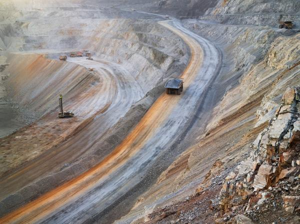 <em>Surface Mining, Newmont Mining Corporation, Carlin, Nevada 2012</em>