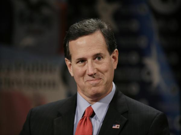 "Republicans should ""Stop talking macro-economics and start talking micro-economics,"" says former Sen. Rick Santorum."