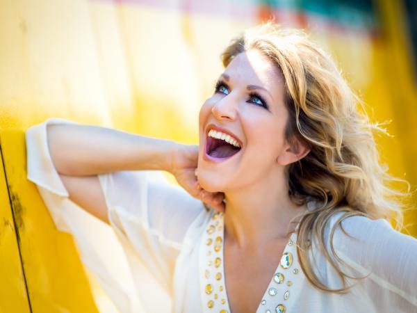 Mezzo-soprano Joyce DiDonato.