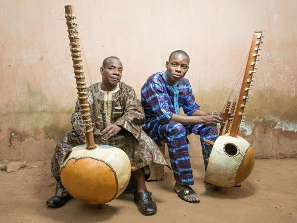 Toumani and Sidiki Diabaté from Mali.