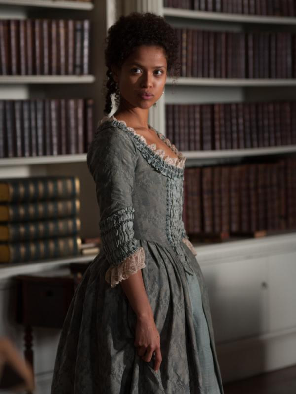 Gugu Mbatha-Raw as Dido Elizabeth Belle in <em>Belle</em>.