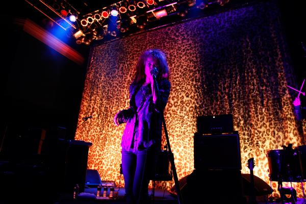 The Kills performs at the 9:30 Club in Washington, D.C. on Feb. 2, 2012.