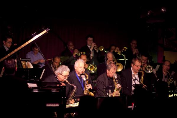 The Vanguard Jazz Orchestra.