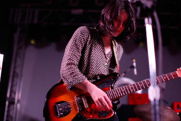 Sharon Van Etten, a singer-songwriter based in Brooklyn, built a brooding set on stealthy rock underpinnings at NPR Music's SXSW Showcase. Her new album is called <em>Tramp.</em>