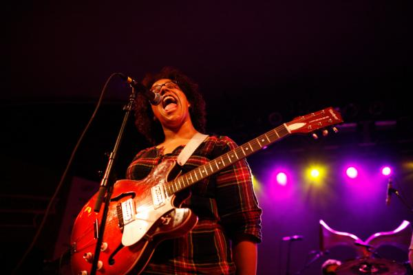 Brittany Howard, the charismatic lead singer for the rock/soul outfit Alabama Shakes, told Bob Boilen and Ann Powers that she had never traveled outside the American Southeast prior to playing NPR Music's SXSW Showcase.