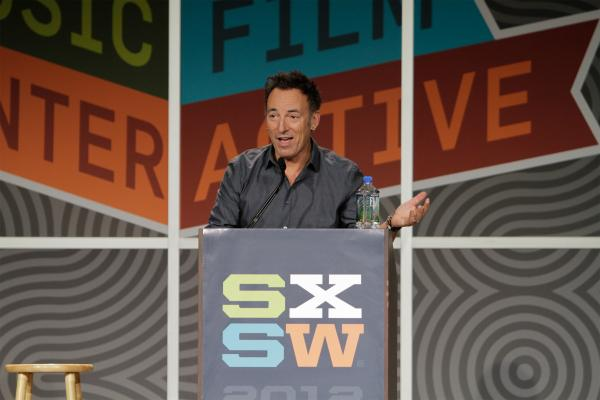 """We live in a post-authentic world. Today, authenticity is a house of  mirrors."" That was just one of many memorable quotes from Bruce  Springsteen's outstanding SXSW keynote that began Thursday."