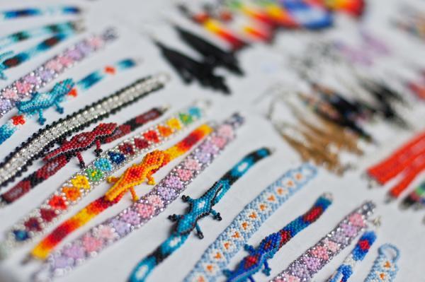 Huichol jewelry.