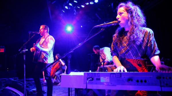 Lost In The Trees perform at Le Poisson Rouge in New York City on April 11, 2012.