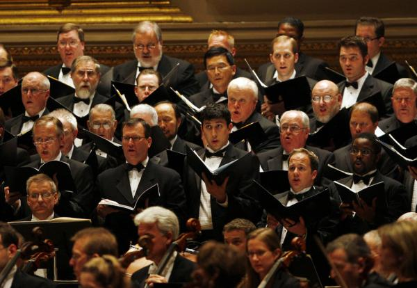 "The Dallas Symphony Chorus plays a large part in Steven Stucky's LBJ-based oratorio, ""August 4, 1964."""