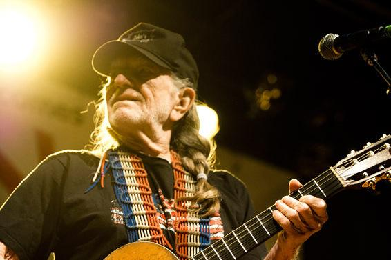 Willie Nelson performs during WXPN's Non-Commvention at <em>World Cafe Live</em>.