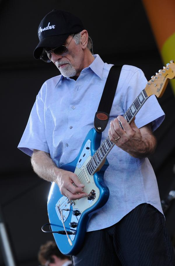 NEW ORLEANS, LA - APRIL 27: David Marks of The Beach Boys perform during he 2012 New Orleans Jazz & Heritage Festival Presented by Shell at the Fair Grounds Race Course on April 27, 2012 in New Orleans, Louisiana. (Photo by Rick Diamond/Getty Images)