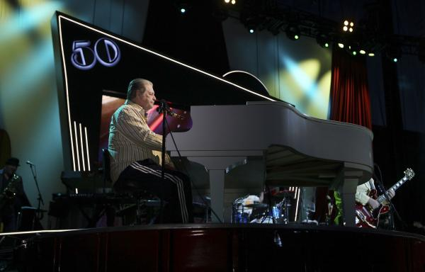 LAS VEGAS, NV - MAY 27: Brian Wilson of the Beach Boys perform at the Red Rock Casino, Resort and Spa on May 27, 2012 in Las Vegas, Nevada. (Photo by Jeff Bottari/Getty Images)