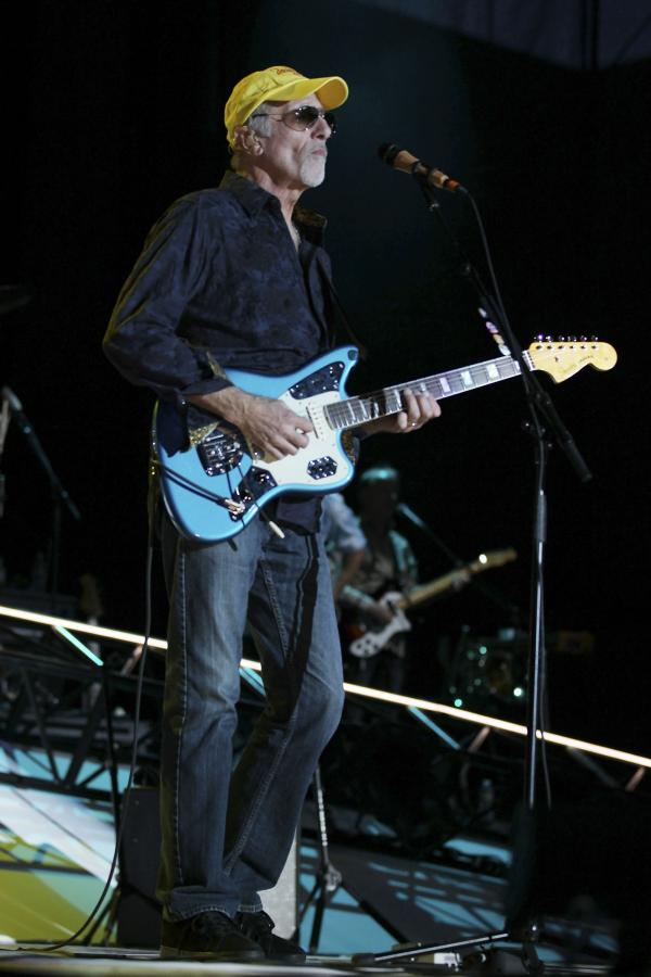 LAS VEGAS, NV - MAY 27: David Marks of the Beach Boys perform at the Red Rock Casino, Resort and Spa on May 27, 2012 in Las Vegas, Nevada. (Photo by Jeff Bottari/Getty Images)