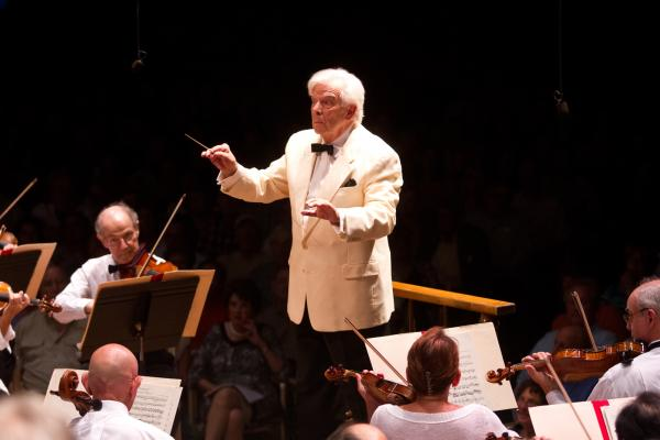 Conductor Christoph von Dohnanyi has been a frequent guest conductor at the Boston Symphony Orchestra recently.