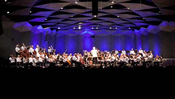 The Boston Symphony Orchestra opened their 75th anniversary season at Tanglewood on July 6, 2012.