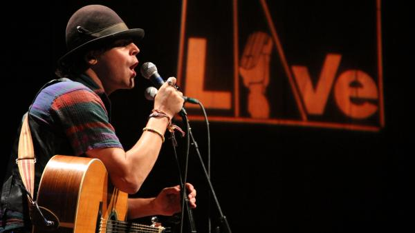 Langhorne Slim performed songs from his new album at World Cafe Live in Philadelphia.
