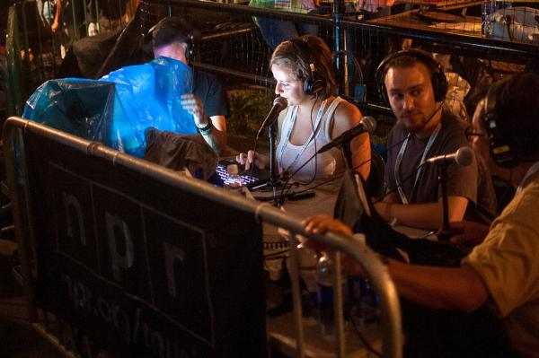 The performance was broadcast live by NPR's <em>Alt.Latino</em>. Hosts Jasmine Garsd and Felix Contreras were joined by KEXP's DJ Chilly.