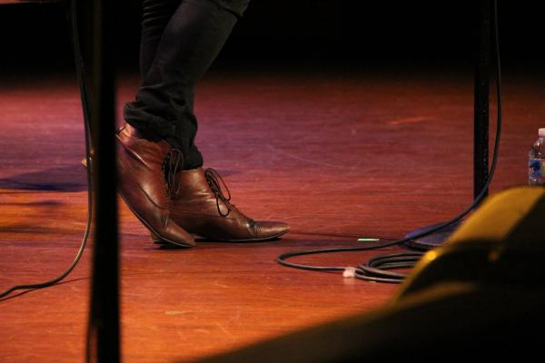 Kristian Matsson, a.k.a. The Tallest Man On Earth has excellent taste in footwear.