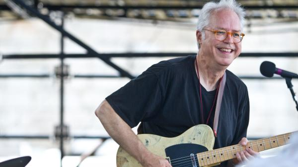Bill Frisell performs at the 2012 Newport Jazz Festival.