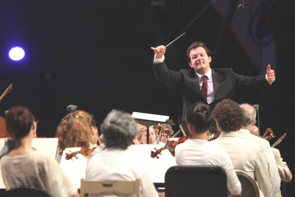 Nelsons led a sharp and colorful performance of Ravel's <em>La Valse</em>, the composer's pungent commentary on the Viennese waltz and the society from which it came.