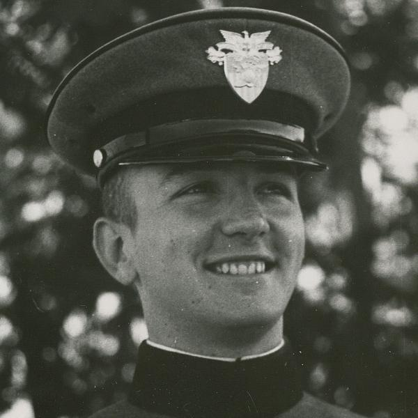 Laurel's father as a young West Point cadet.