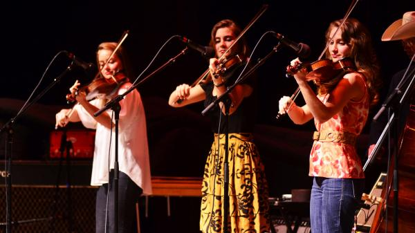 The Quebe Sisters Band performs on <em>Mountain Stage</em>.