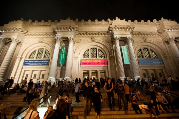 The Metropolitan Museum of Art hosts music events throughout the year in their concert hall and gallery spaces.