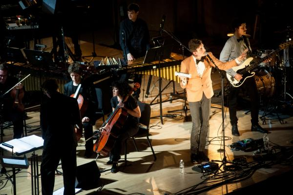 The performance marked the American premiere of music from the band's new album <em>Piramida</em>.
