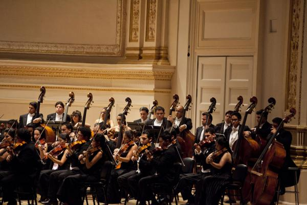 Thirteen players strong, the double basses had plenty to bow about in the colorful music presented on the concert from Mexican composers Carlos Chávez and Silvestre Revueltas, and Cuban composer Julian Orbón.