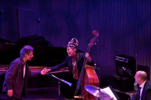 "Chick Corea paid tribute to Bill Evans with his version of ""Alice In Wonderland,"" with Esperanza Spalding on bass and Jeff Ballard on drums."