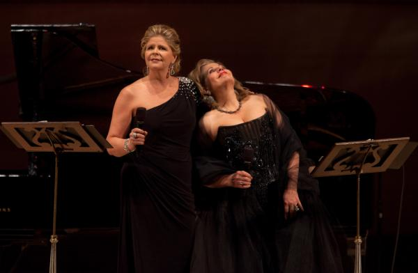 "Between sets the two divas told stories — often humorous — of the composers of La Belle Époque, the ""Beautiful Era"" spanning from the last couple decades of the 19th century up until World War I."