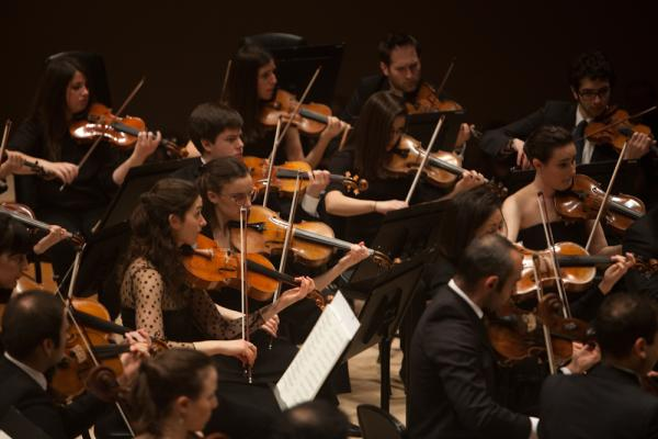 The orchestra, co-founded by Barenboim and the late Palestinian scholar Edward Said, brings together musicians from Israel, the Palestinian territories and other countries across the Middle East including Syria, Egypt, Algeria, Lebanon, Jordan, Egypt, Turkey and Iran.