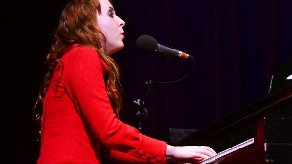 Brooke Waggoner performing live at Mountain Stage.