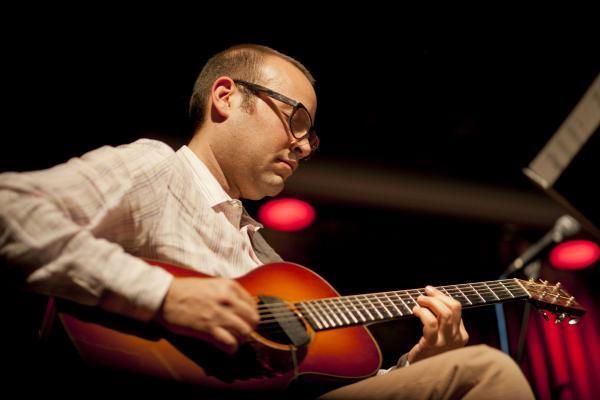 Acoustic guitarist Liberty Ellman.
