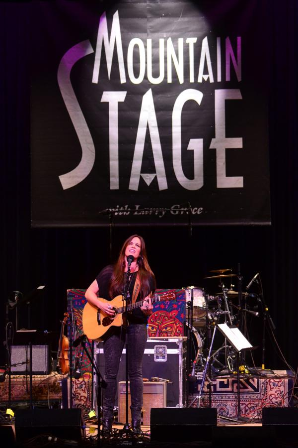 Bonnie Bishop performs live on <em>Mountain Stage</em>.