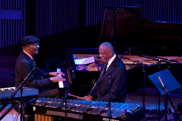 McCoy Tyner was reunited with his old friend, vibraphonist Bobby Hutcherson.