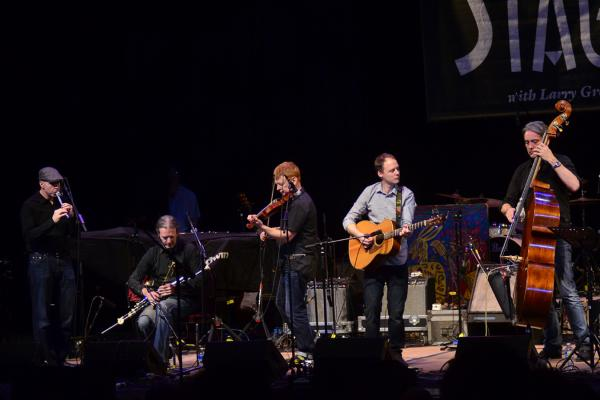 Lunasa performs on <em>Mountain Stage</em> at the Paramount Theater in Bristol, Tenn./Va.
